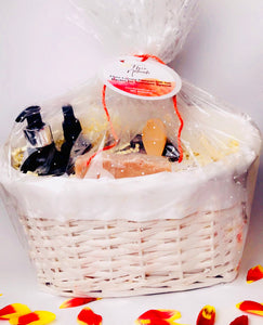Flore Luxury Pamper Gift Set Basket for Someone Special