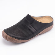 Damen Leichte Clogs Closed Toe Casual Pantoffel Wedges Sandalen