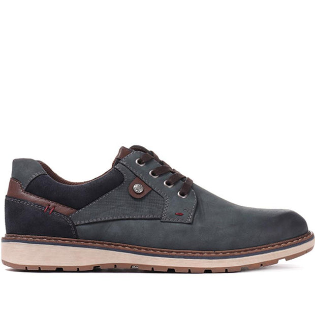 Männer Casual Lace Up Derby Schuh