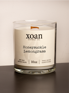 Honeysuckle Lemongrass - 10oz Candle