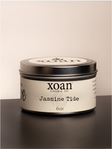 Jasmine Tide - 6oz Candle