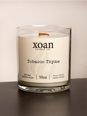 Tobacco Thyme - 10oz Candle