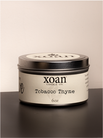 Tobacco Thyme - 6oz Candle