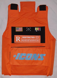 VEST HUDSON ICONS ORANGE TACTICAL FASHION BULLET PROOF VEST