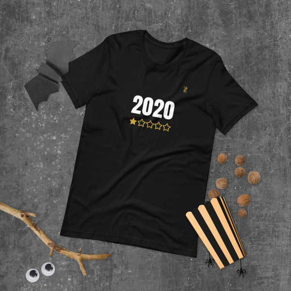 2020* Full White Unisex T-Shirt