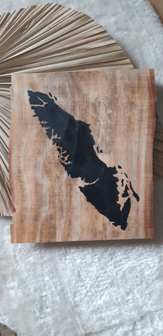 Vancouver Island Reclaimed Wood sign 1