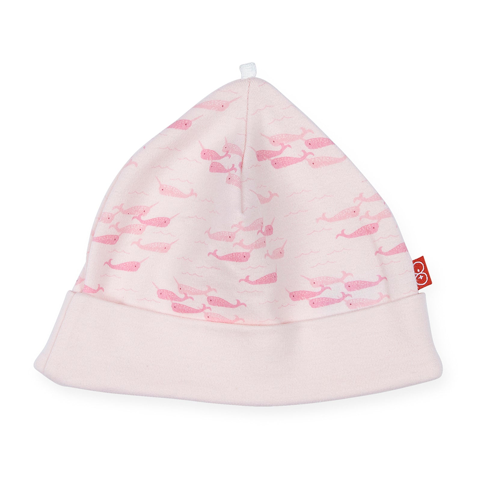 8ecf5c6e4c4 Magnetic Me Pink Narwhals Cotton Hat