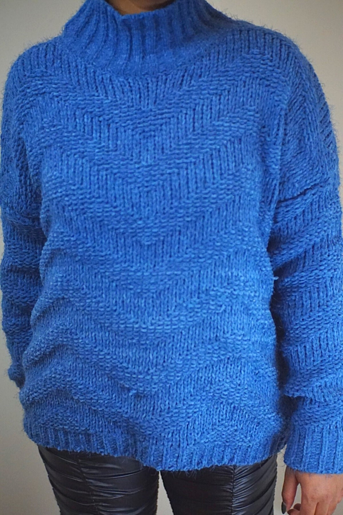 Blue Sherri Sweater