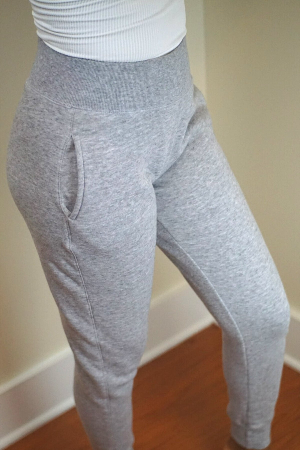 Grey Sugar Fleece Joggers
