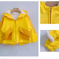 Lion Thicken Fleece Warm Winter Jacket 24M-9Y - childzania