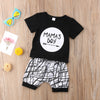 Mama's Boy T-Shirt With Shorts Set 6M-24M