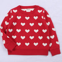 Heart Matching Sweaters 12M-6Y
