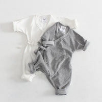 Solid Colour Little Angel Romper 6M-24M