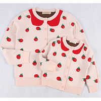 Strawberries Matching Sweaters