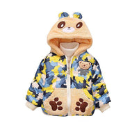 Camouflage Hooded Bear Jacket 12M-4Y
