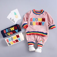 Brown Bunny 2PCS Set 12M-4Y
