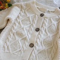 New Knitted  Cardigan With Shorts Set 6M-24M