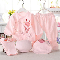 Newborn 5PCS Set Pure Cotton - childzania
