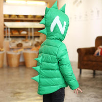 Dinosaur 3D Hooded Unisex Jacket 18M-3Y