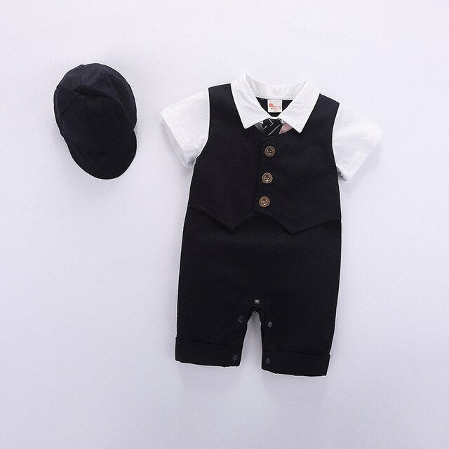 Fashion Jumpsuit With Hat 6-12 Months - childzania