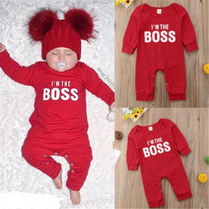 I'm the BOSS Romper 6M-24M - childzania