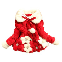 Quality Faux Fur Coat 6M-3Y
