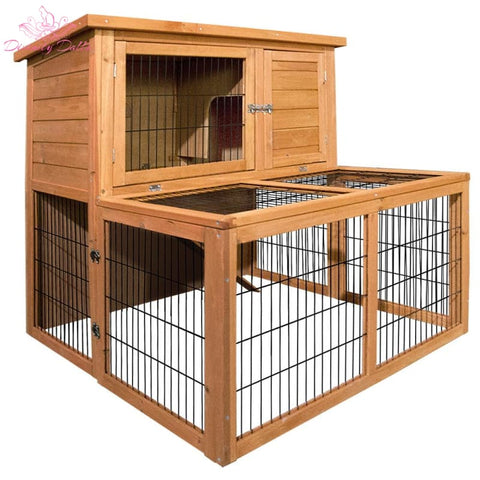 i.Pet 100cm Tall Wooden Pet Coop - Pet Care