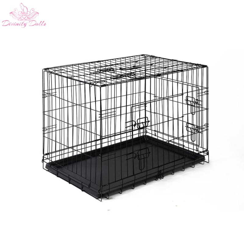 i.Pet 30inch Pet Cage - Black - Pet Care