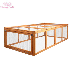 i.Pet Rabbit Hutch Chicken Coop - Pet Care