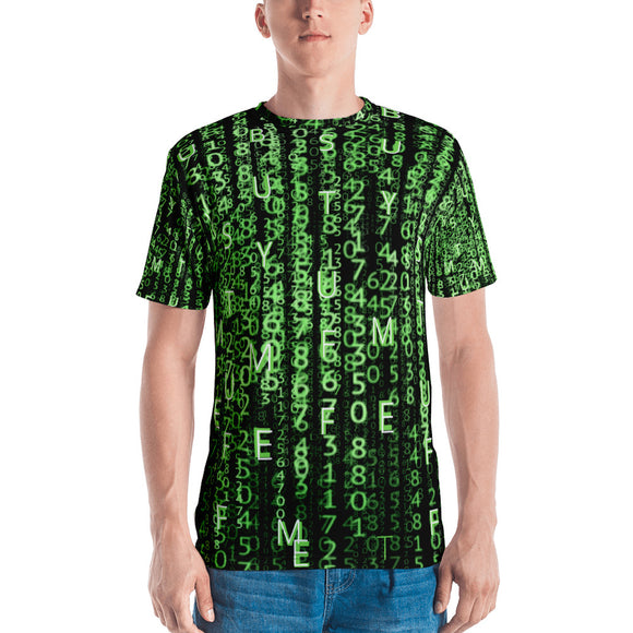Gamer T-Shirt - Buy Me Stuff - Subliminal message- Matrix Style - Forge&Craft