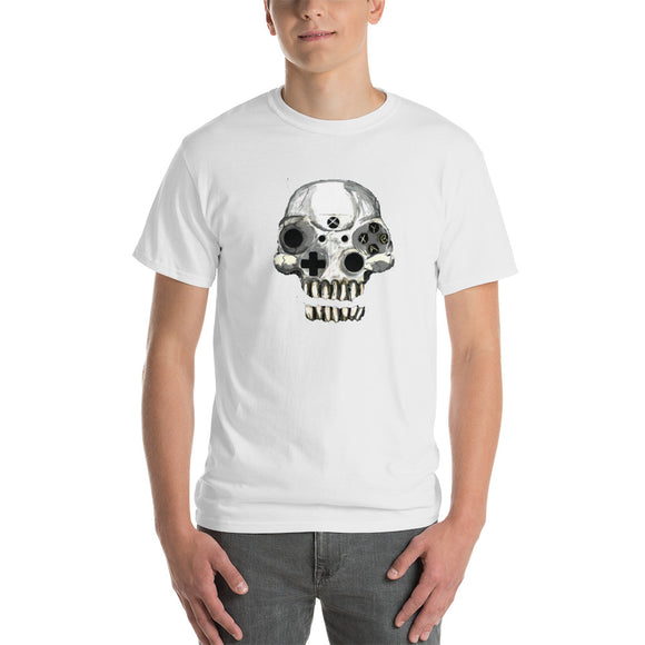 Gamer T-Shirt - Hand Drawn - Skull Design - Forge&Craft