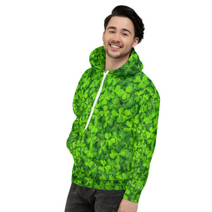 Lucky Hoodie - Lucky Shamrock - Traditional Green - Forge&Craft