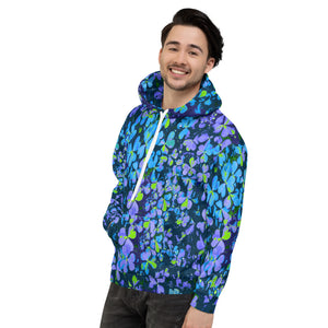 Blue Smash - Lucky Hoodie - Shamrock Design - Forge&Craft