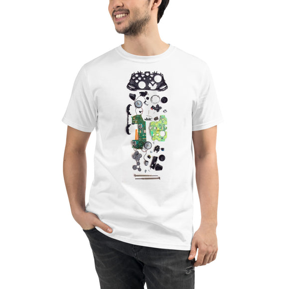 Gamer T-shirt - XBOX One S Controller Tee - Ever Get a Little Too Curious with your Screwdriver? - Forge&Craft