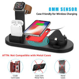 4 in 1 Wireless Fast Charger - Stand Charging Station - Forge&Craft