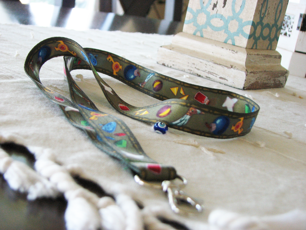 Legend of Zelda Items Lanyard