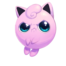 Jigglypuff Double Sided Charm