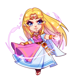 Zelda Double Sided Charm