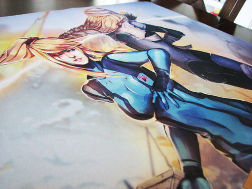 Samus and Sheik Playmat