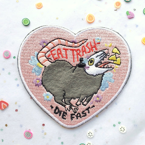 "Eat Trash Possum 3"" Patch"