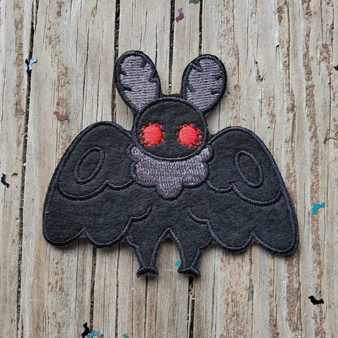 "Mothman 3"" Felt Patch"