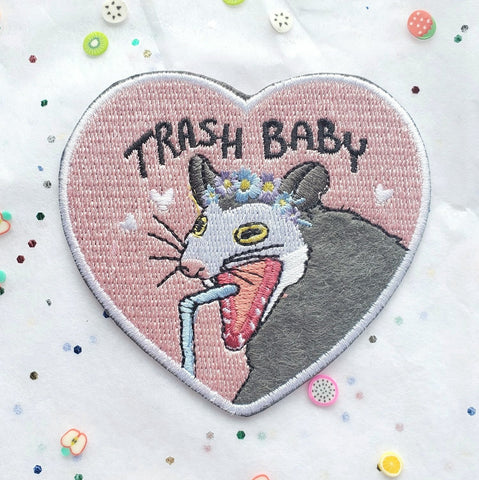 "Trash Baby Possum 3"" Patch"