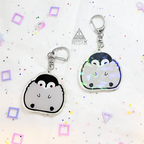 BB Penguin Holo Fat Animal Charm