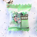 Trash Treats Shaker Bag Charm