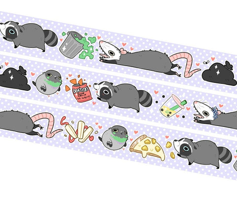 Trash Squad Washi Tape