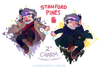 Stanford Acrylic Charm