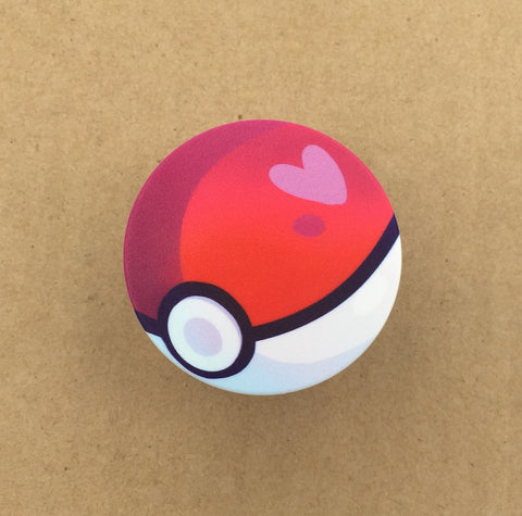 Pokeball Phone Grip