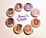 Dream Daddy Button Set (8)