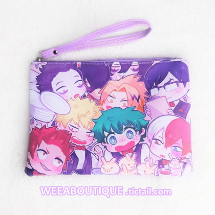 BNHA Boys Cafe Faux Leather Bag