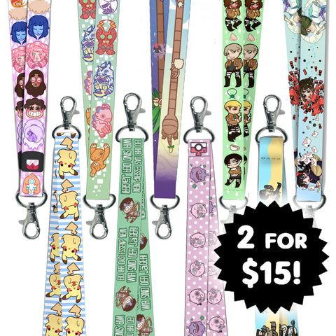 Any 2 Lanyards